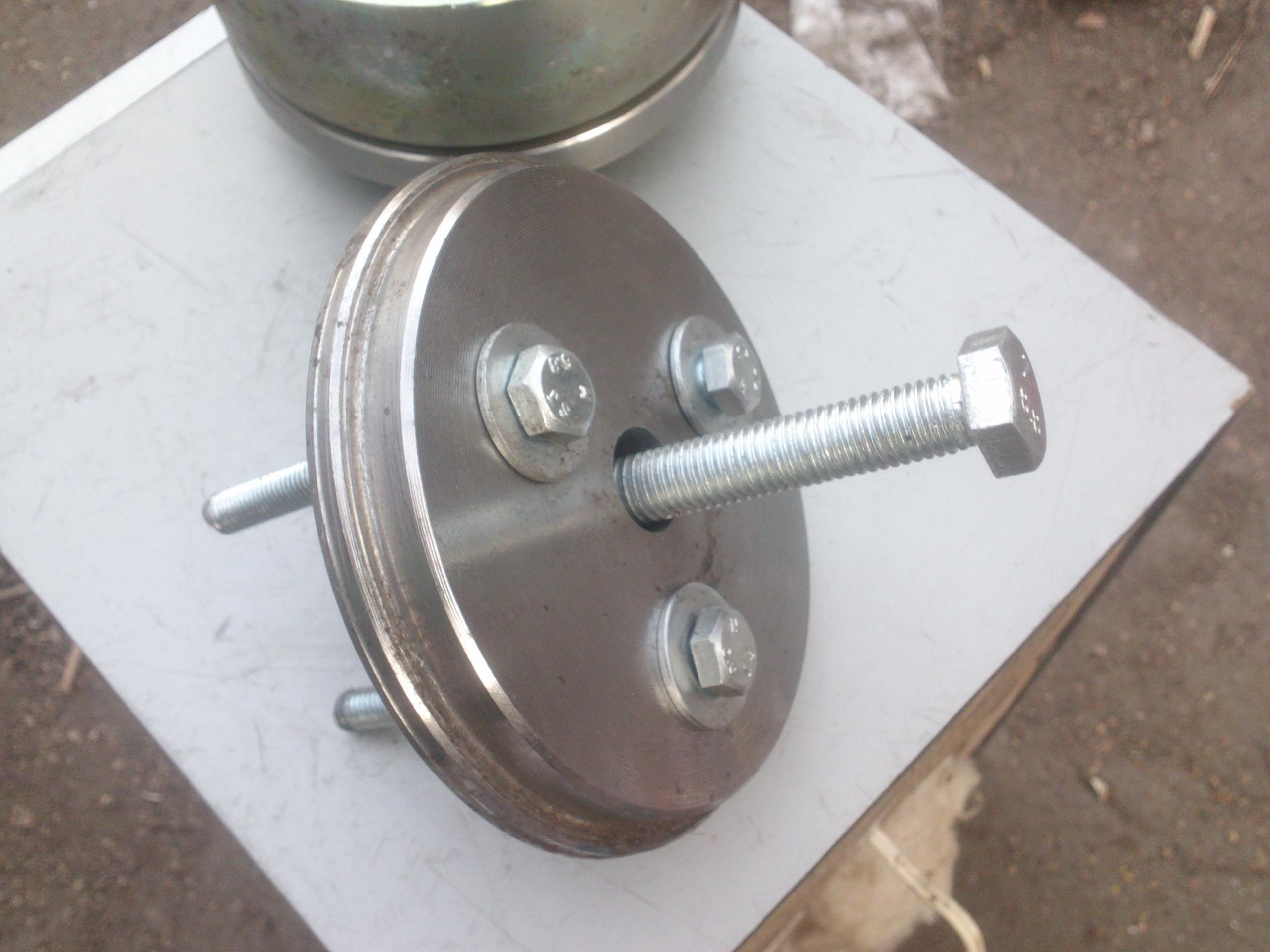 Ремонт рабочего тормозного цилиндра или как чуть не заклинило колесо 39
